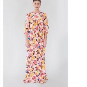 Acacia modern mule dress